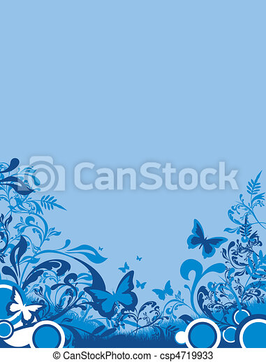 floral background - csp4719933
