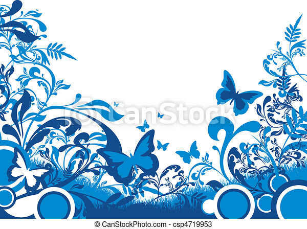 floral background - csp4719953