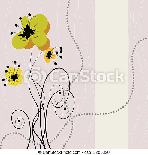 floral background - csp15285320