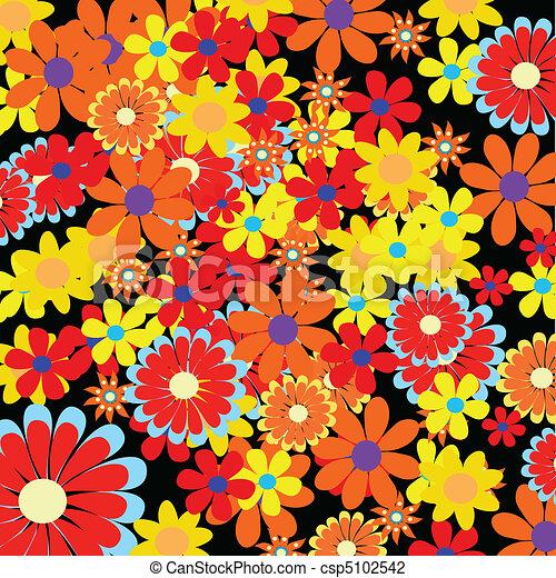 Floral Background - csp5102542