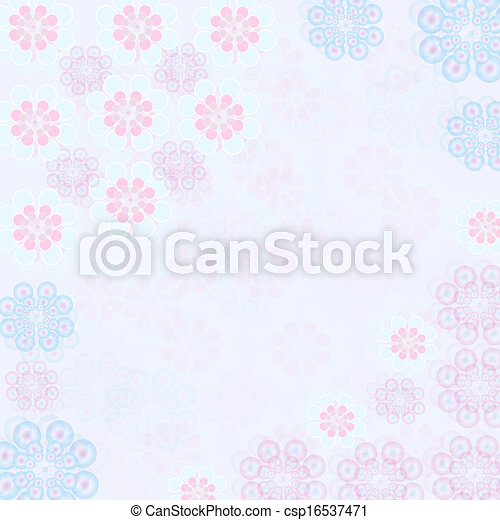 floral background - csp16537471