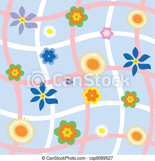 floral background - csp9089527
