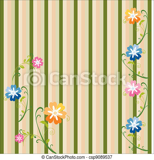 floral background - csp9089537