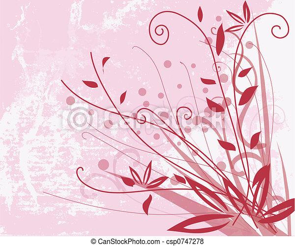 Floral background - csp0747278