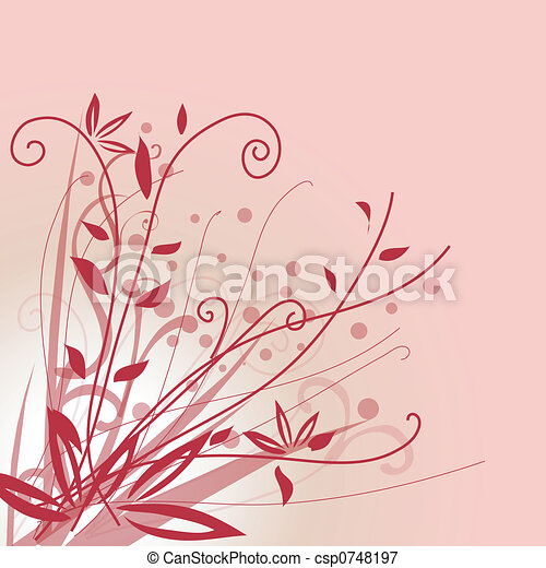 Floral background - csp0748197