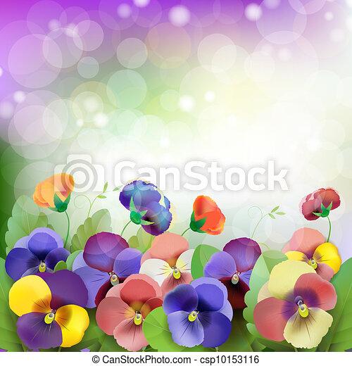 Floral background - csp10153116