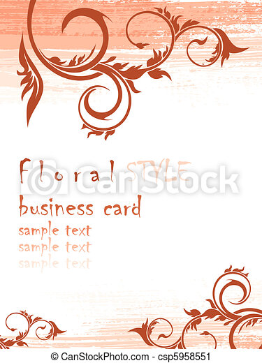 floral background - csp5958551