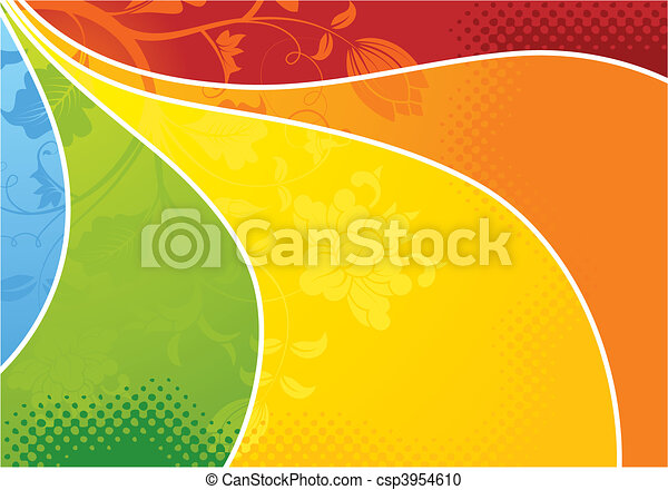 Floral background - csp3954610