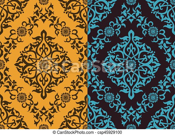 Floral background - csp45929100