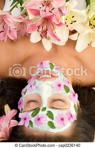 Floral Beauty - csp0236140