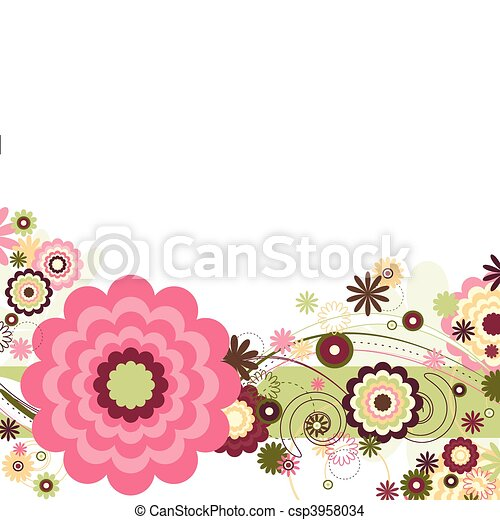 Floral Breeze - csp3958034