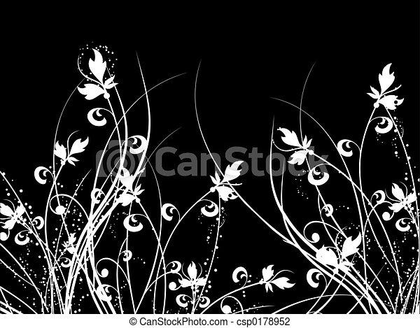 Caos florales - csp0178952