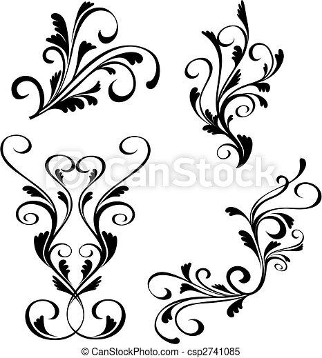Floral decorations - csp2741085