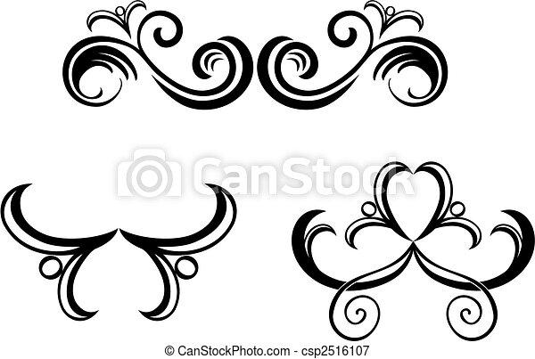 Floral decorations - csp2516107