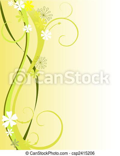 floral dekoration - csp2415206