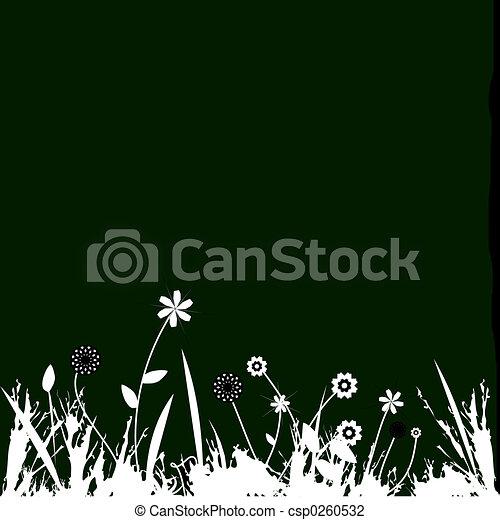 Floral design - csp0260532