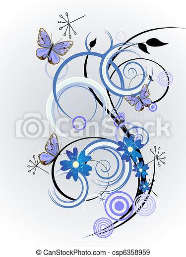 floral design - csp6358959