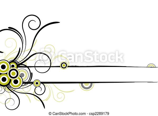 floral design - csp2289179