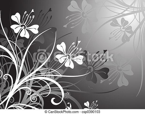 Floral design - csp0390103