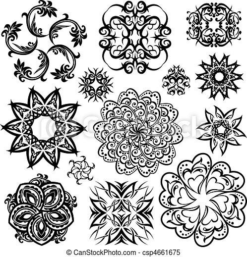 floral element - csp4661675
