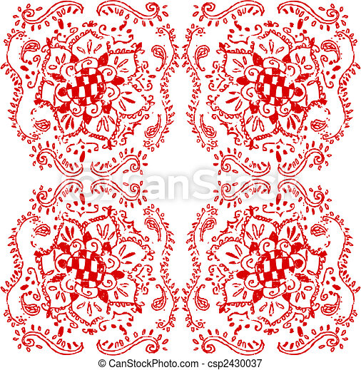 floral element - csp2430037