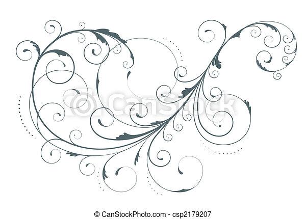 floral element - csp2179207