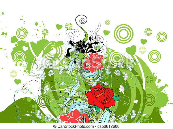 floral - csp8612608