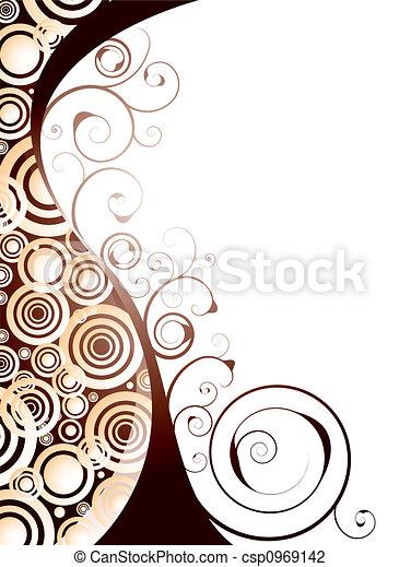Espacio floral - csp0969142