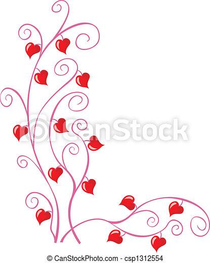 Esquina floral - csp1312554