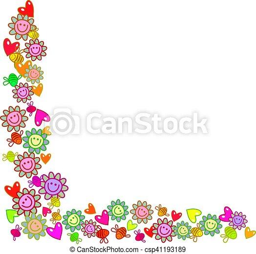 En la frontera de Floral - csp41193189