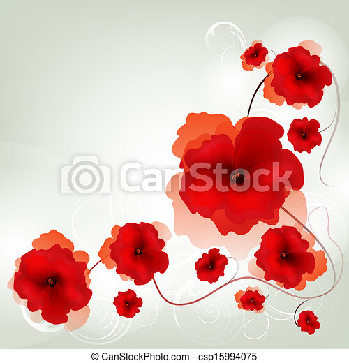 floral, fundo - csp15994075