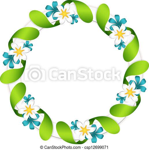 Floral garland - csp12699071