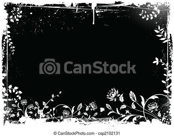 floral grunge - csp2102131