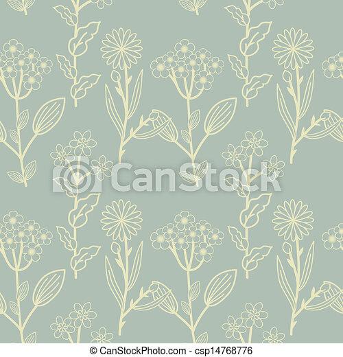 floral model - csp14768776