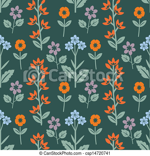 floral model - csp14720741