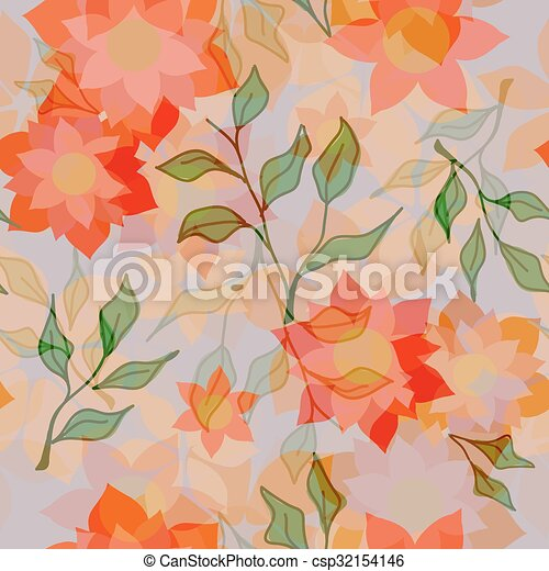 floral model - csp32154146
