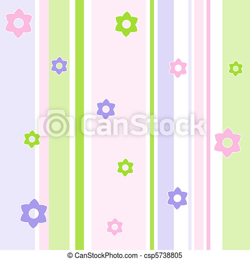 floral model, seamless - csp5738805