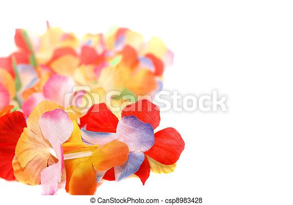 Floral Necklace - csp8983428