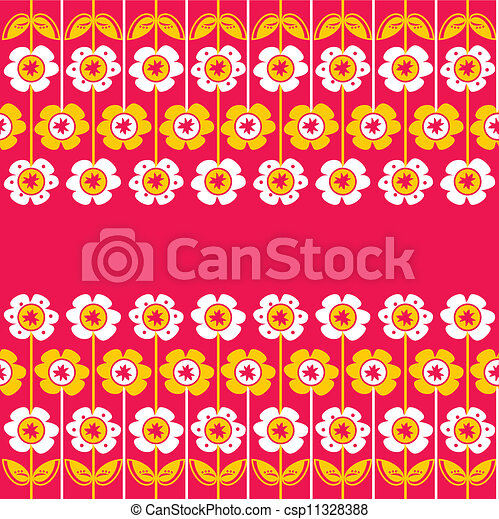 floral, ornament - csp11328388