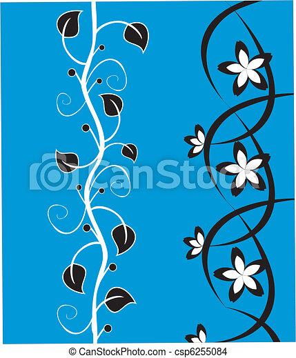 floral, ornament - csp6255084