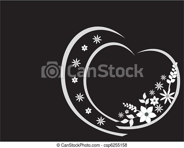 floral, ornament - csp6255158