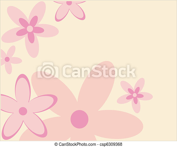 floral, ornament - csp6309368