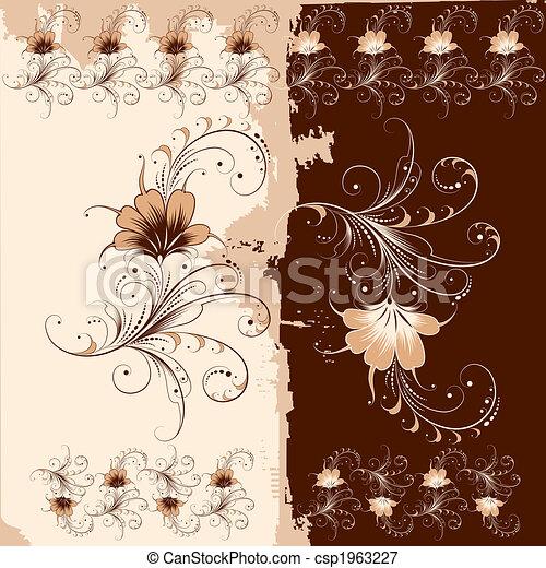 Floral Ornament Pattern - csp1963227