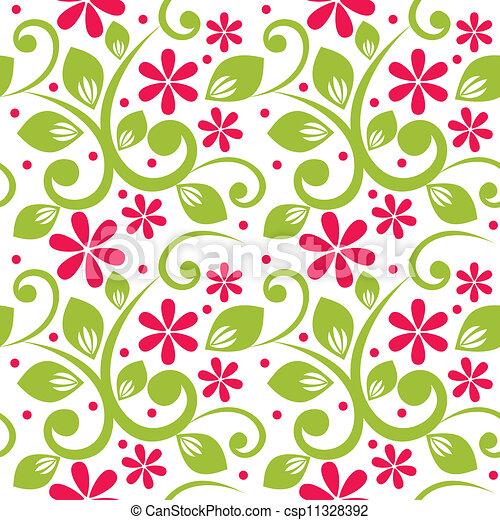 floral, ornament - csp11328392