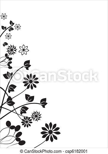 floral, ornament - csp6182001