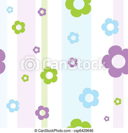 Floral pattern - csp6429646