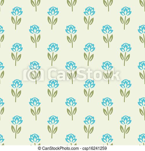 Floral pattern - csp16241259