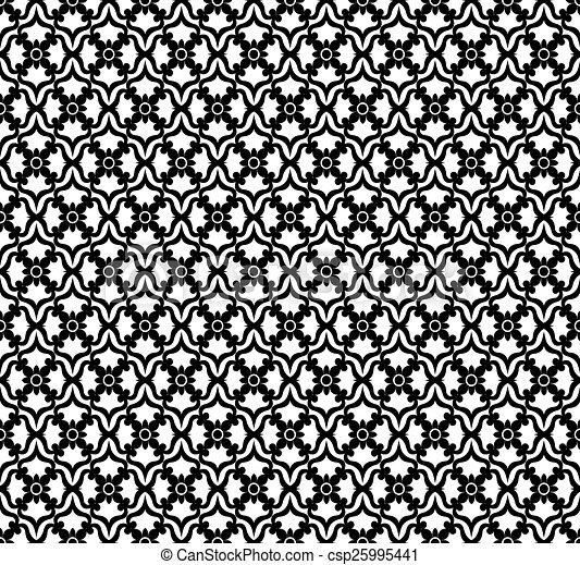 Floral pattern - csp25995441