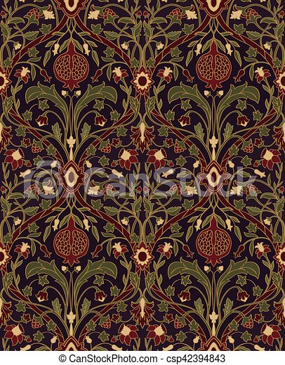Floral Pattern For Wallpaper