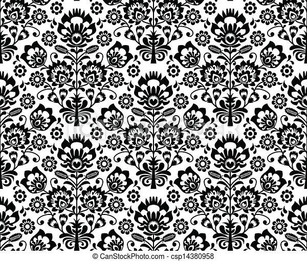 Esmalte floral sin sellar - csp14380958